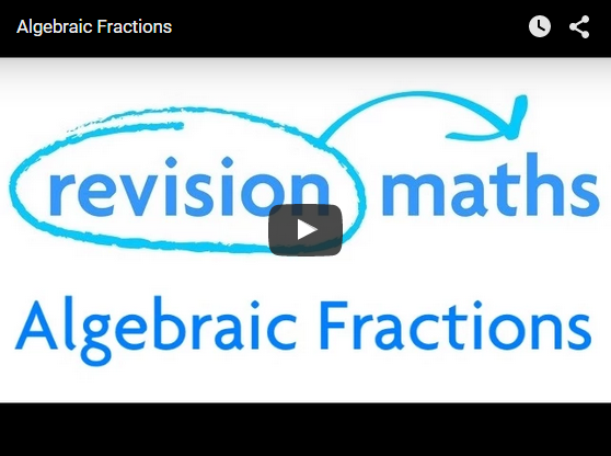 math worksheet : algebraic fractions  mathematics gcse revision : Addition And Subtraction Of Algebraic Fractions Worksheet